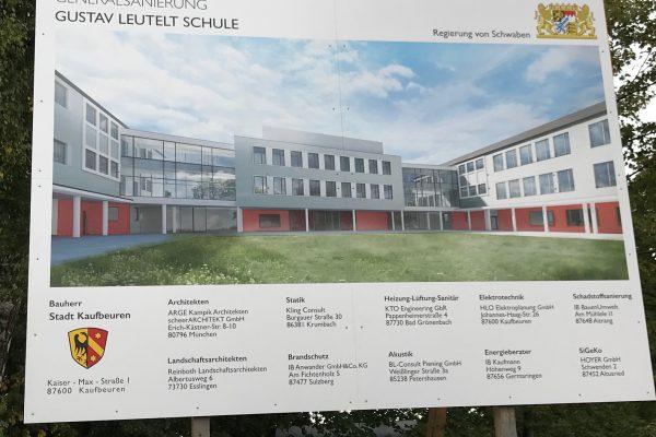 Spatenstich Gustav-Leutelt-Schule Neugablonz